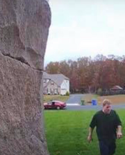 The video recorded through The Ring security doorbell showed a man taking a package from a Franklin Township home.