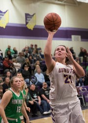 In Division I and Division II, Unioto's Jocie Fisher earned first team all-district honors by the District 14 Coaches Association.