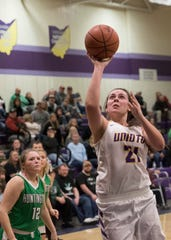Unioto High School's Jocie Fisher received All-Ohio special mention on Wednesday.