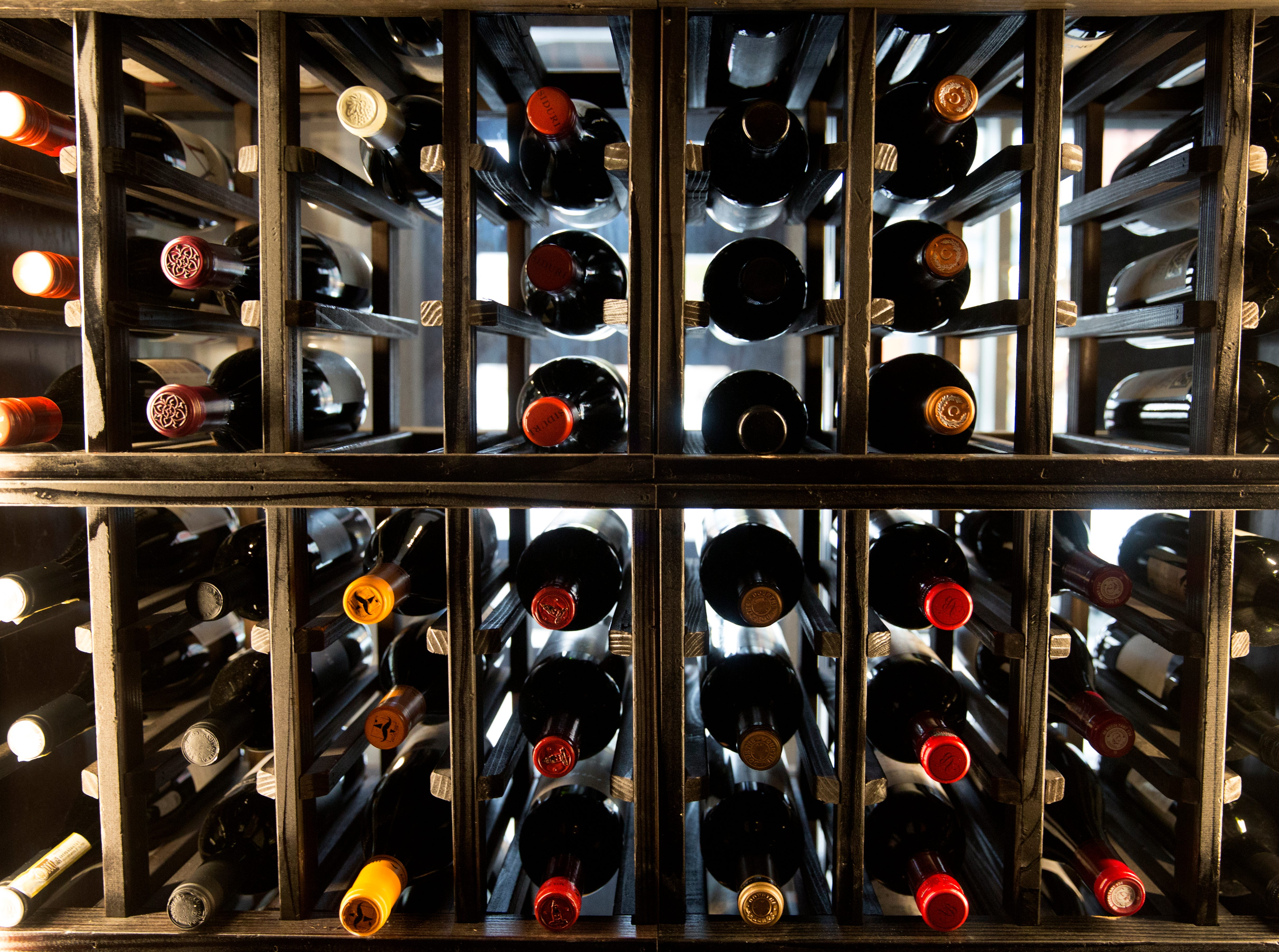 Red wine is stored in a climate controlled cooler at The Mercer on Vine Street in Over-the-Rhine. The restaurant has been serving Italian-Eureopen food since 2014. The bar opens at 4 pm. The restaurant at 5 pm. The owner, Jon Zipperstein, also owns Kaze, just up the block and Embers in Madeira. Emmy Friedrichs is the manager.