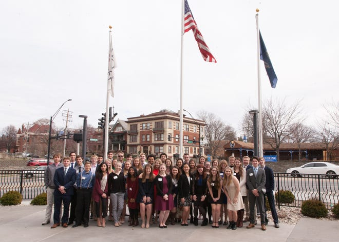 Here is the 2018 graduating class of Regional Youth Leadership. Sophomores are invited to apply to the seven-month leadership program.