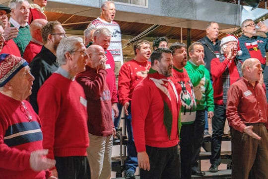 """The Hunterdon Harmonizers reveal the secret of Christmas in a holiday show, """"A Christmas Secret,"""" on Dec. 8 at 3 and 8 p.m. at the Hunterdon Central Regional High School."""