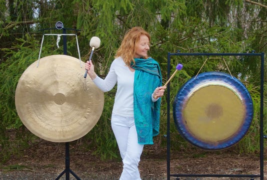 Gong Meditation and Relaxation at Bernardsville Library PHOTO CAPTION