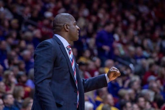 Iowa State assistant coach Daniyal Robinson