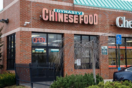 Dynasty Chinese Food restaurant in Detroit, Tuesday, Nov. 27, 2018.