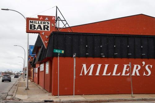 Miller's Bar in Dearborn, Tuesday, Nov. 27, 2018.