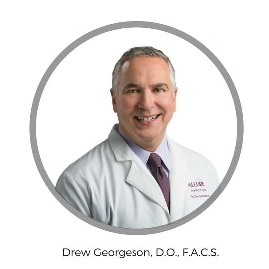 Dr. Drew Georgeson, board-certified general surgeon with Allure Medical