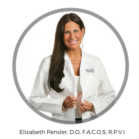 Dr. Elizabeth Pensler, double board-certified vascular and general surgeon at Allure