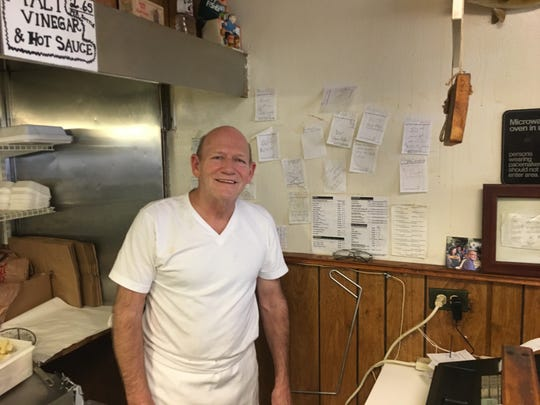 Owner Harold Barber of Scotty Simpson's Fish & Chips