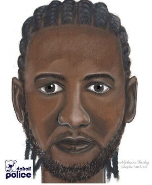 Police are seeking this man in connection with a sexual assault Tuesday on the Detroit's east side.