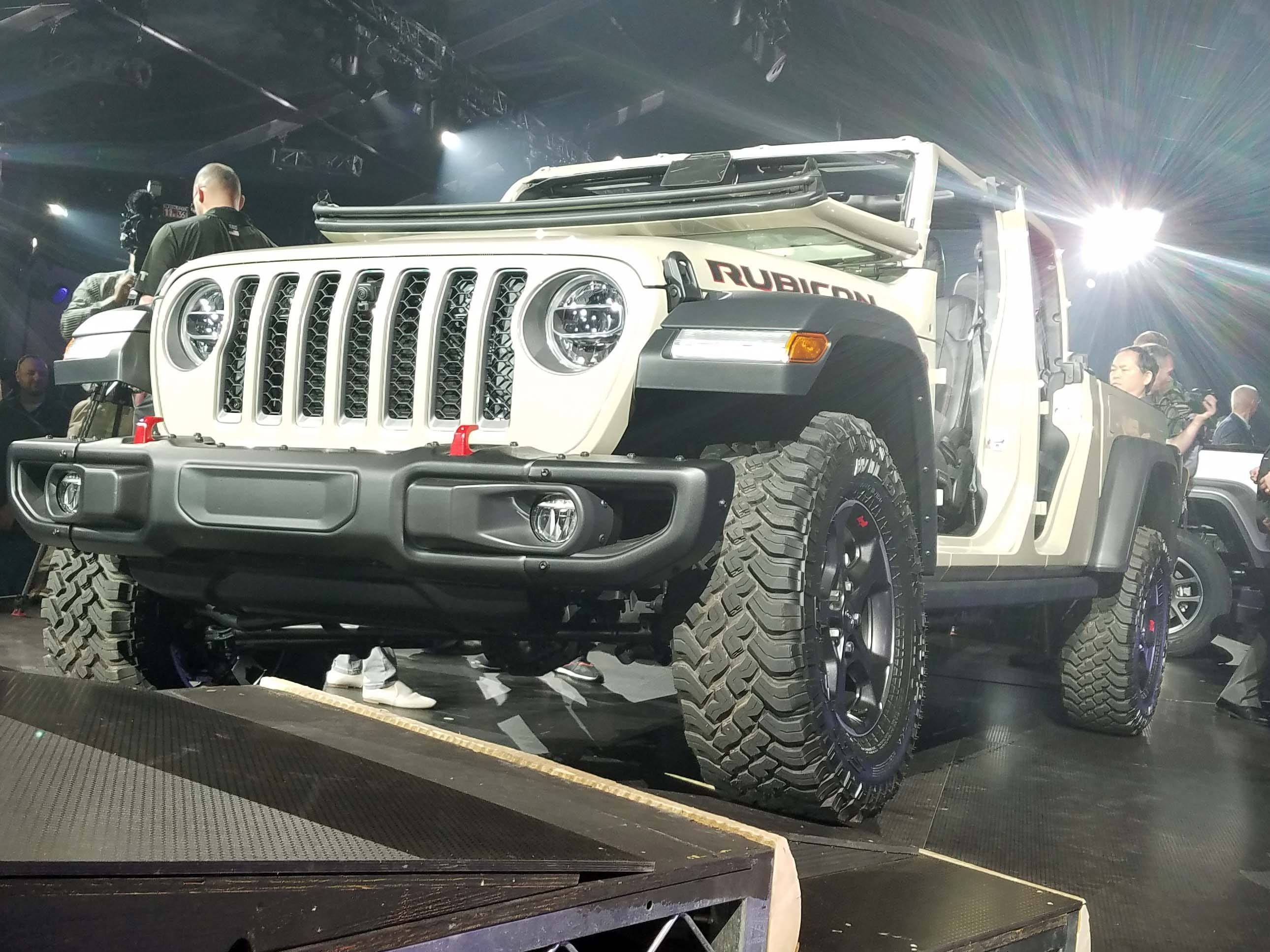 The Jeep Gladiator has the off-road capability of a Wrangler Rubicon - with the pickup utility of a big bed and 7,000-pound plus towing capacity.