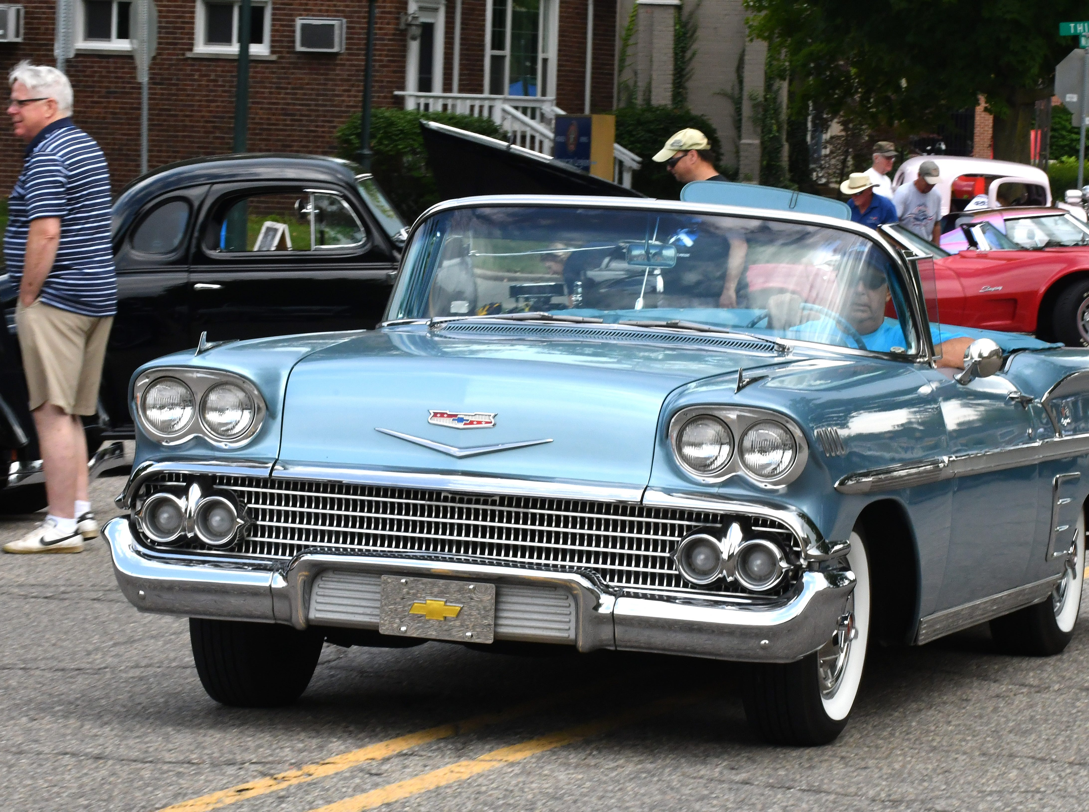A 1958 Impala at the 19th annual Rockin Rods n' Rochester in Rochester, Aug. 12, 2018.