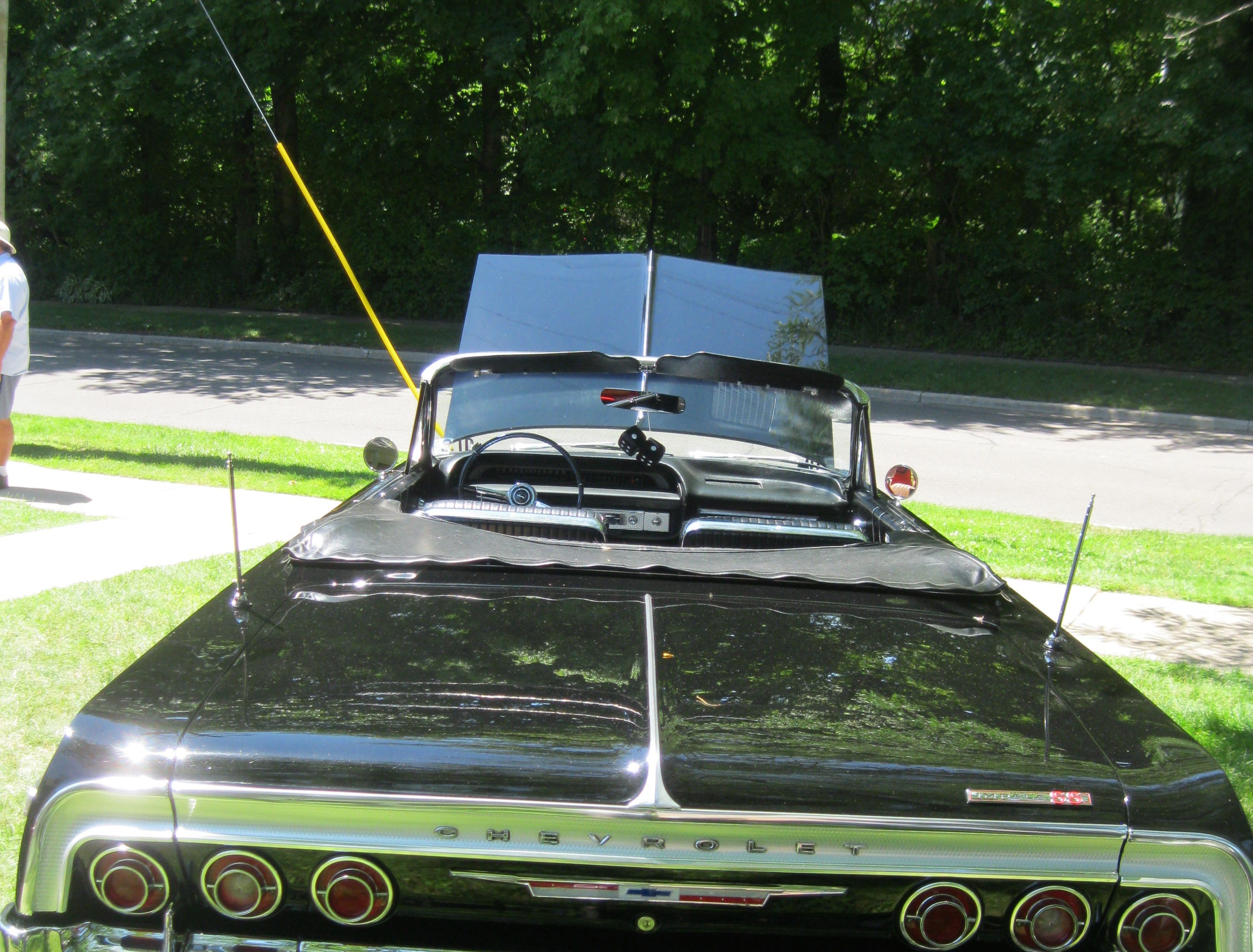 A 1964 Chevrolet Impala SS convertible owned by Victor Dragna of St. Clair Shores.