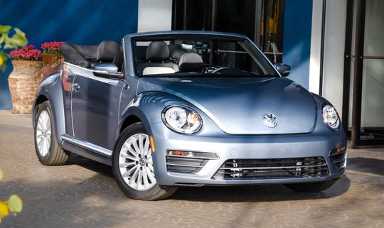 The 2019 Beetle Convertible Final Edition.