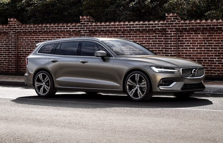 The 2019 Volvo V60 is a sleek and engaging example of a rare breed on American roads, the wagon.