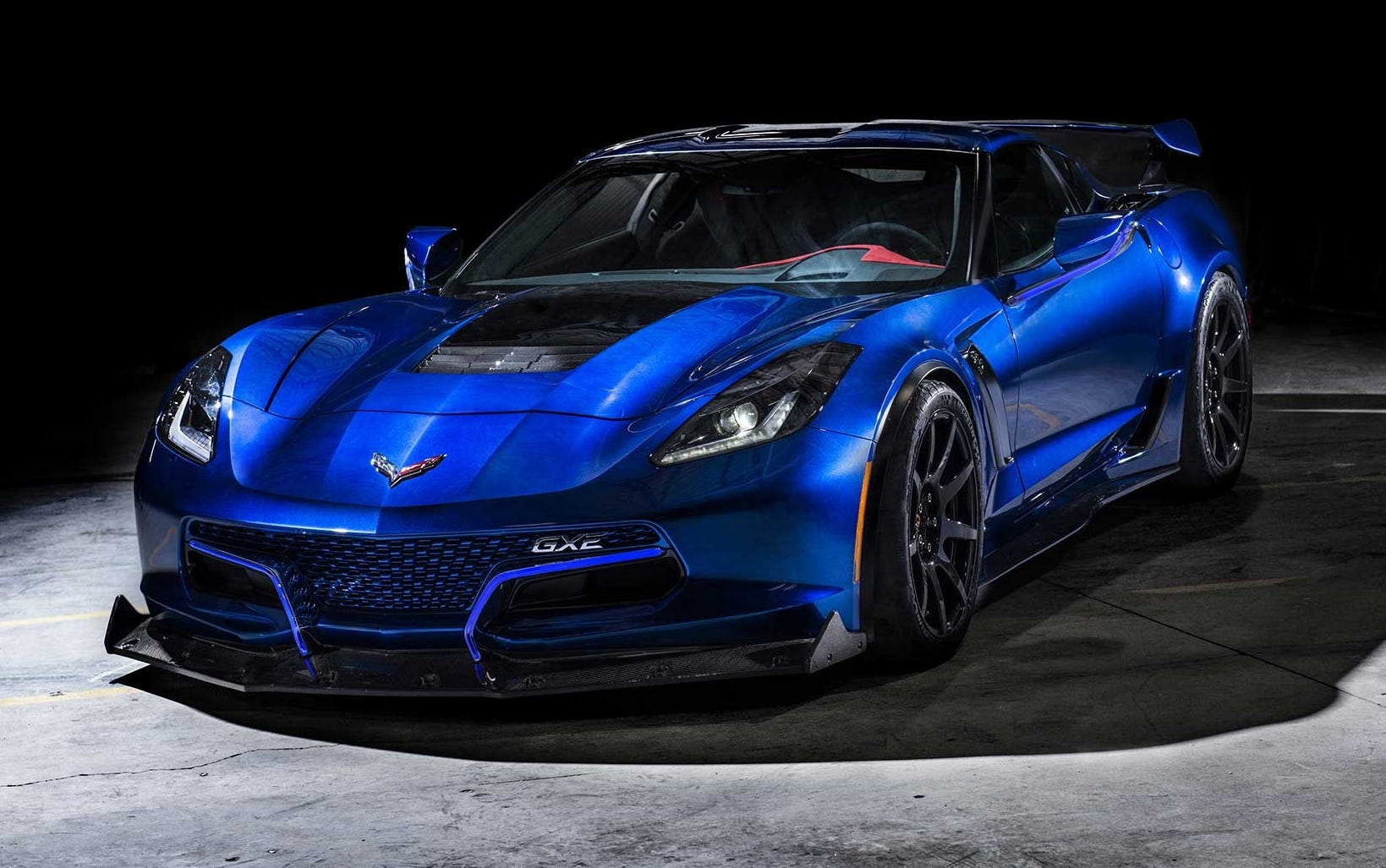 The Genovation GXE Corvette is an all electric supercar.