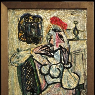 The Evansville Museum found a Picasso in storage in 2012. What happened to it? | Webb