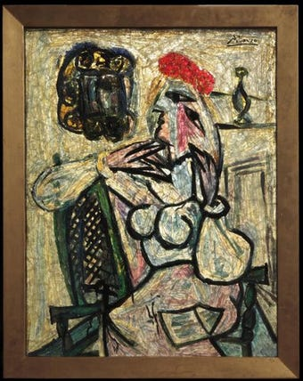 The Evansville Museum found a rare Picasso in storage in 2012. What happened to it.
