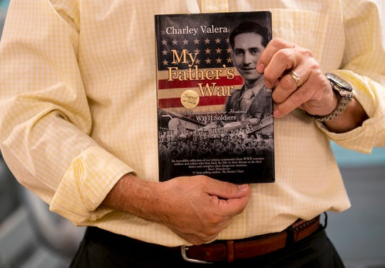 My Father's War by Charlie Valera has photos and stories from World War II veterans. Three of the veterans in the book will soon be presented with the French Legion of Honor medal for their heroism.
