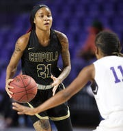 Chipola College's Dekeriya Patterson, a Dunbar High School graduate, returned to Fort Myers on Thursday to play ASA Miami in the Florida Junior College Shootout at Suncoast Credit Union Arena. Patterson scored 25 points in Chipola's 75-40 win.