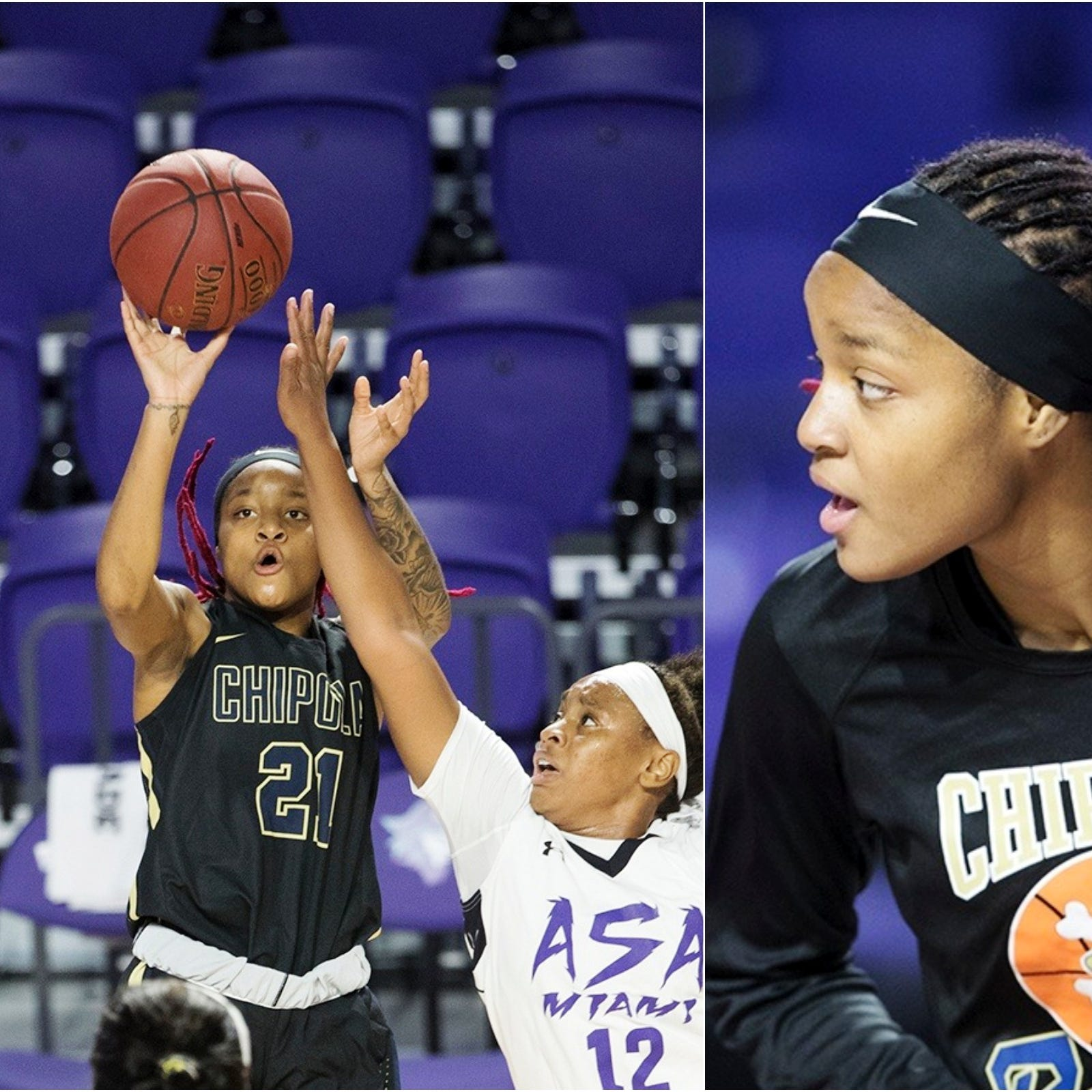 Dunbar alum Dekeriya Patterson embracing second chance, transitioning from LSU to JUCO