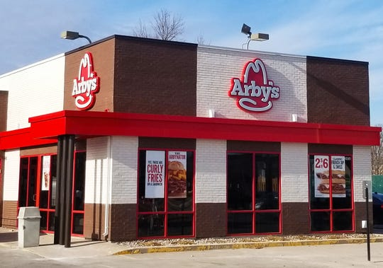 Arby's, 2456 S. Oneida St., after renovations were completed.