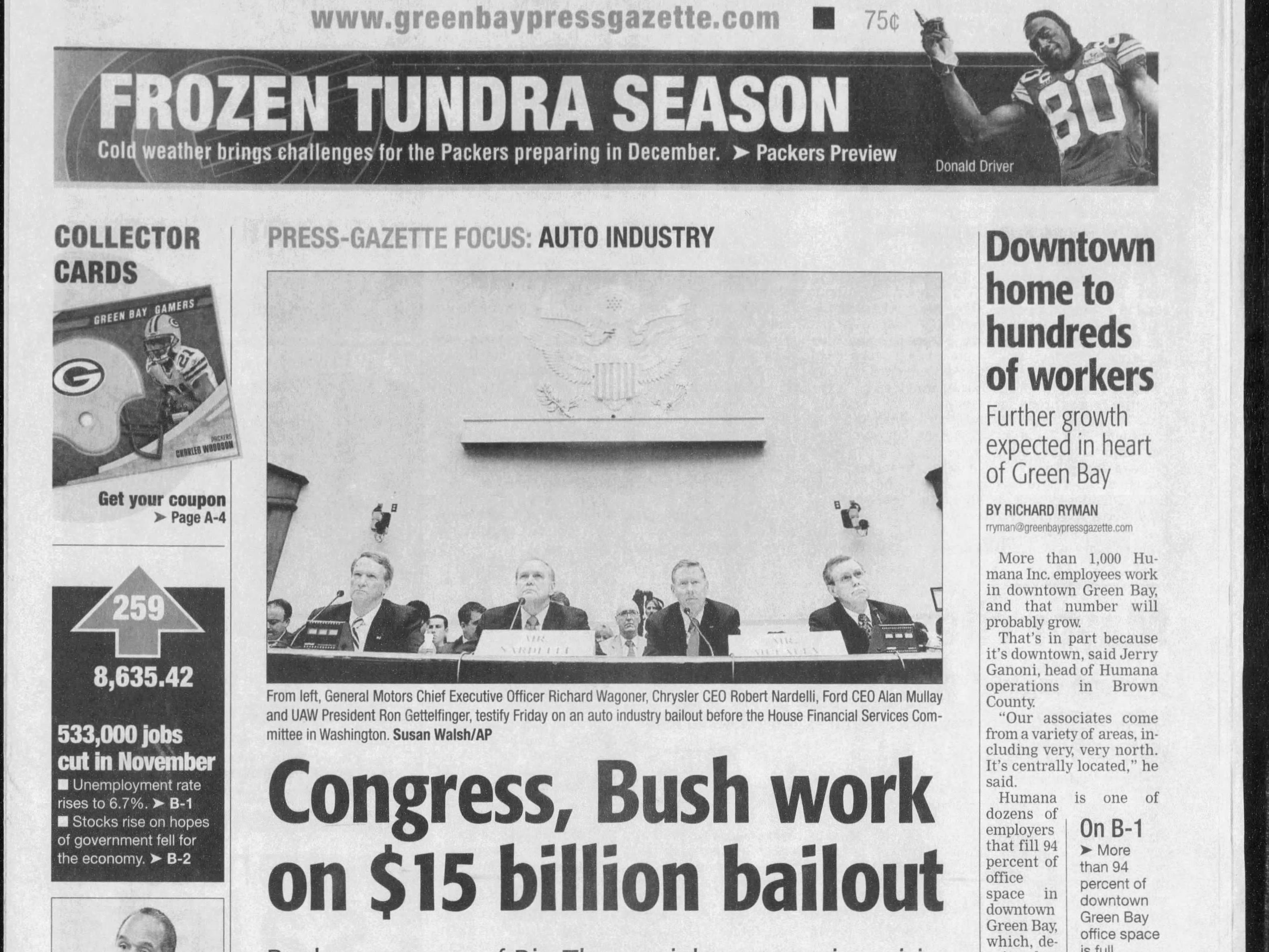 Today in History:  Dec. 6, 2008