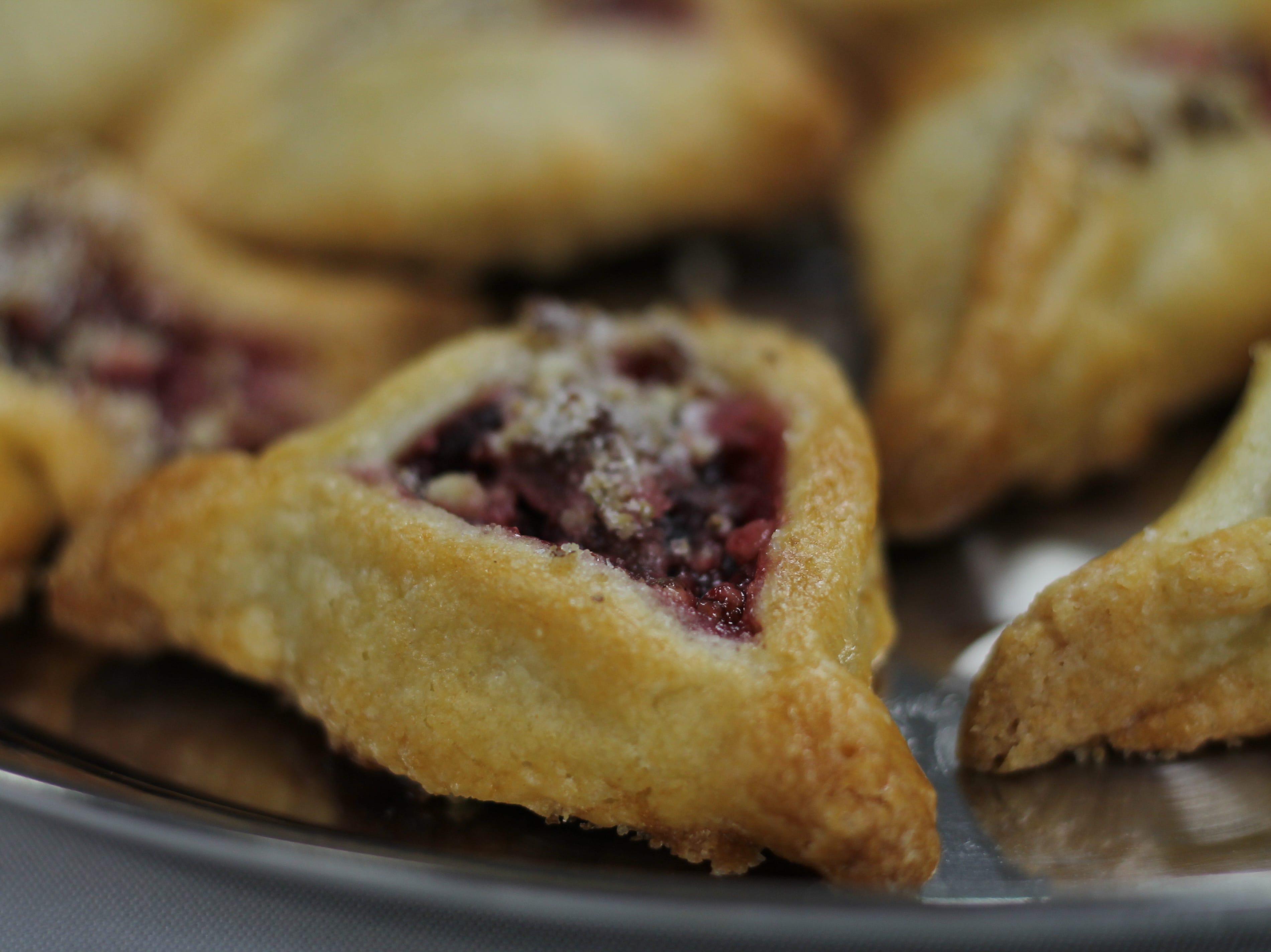 Cranberry Danish Cookies