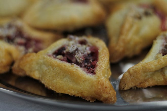 Cranberry Danish Cookies