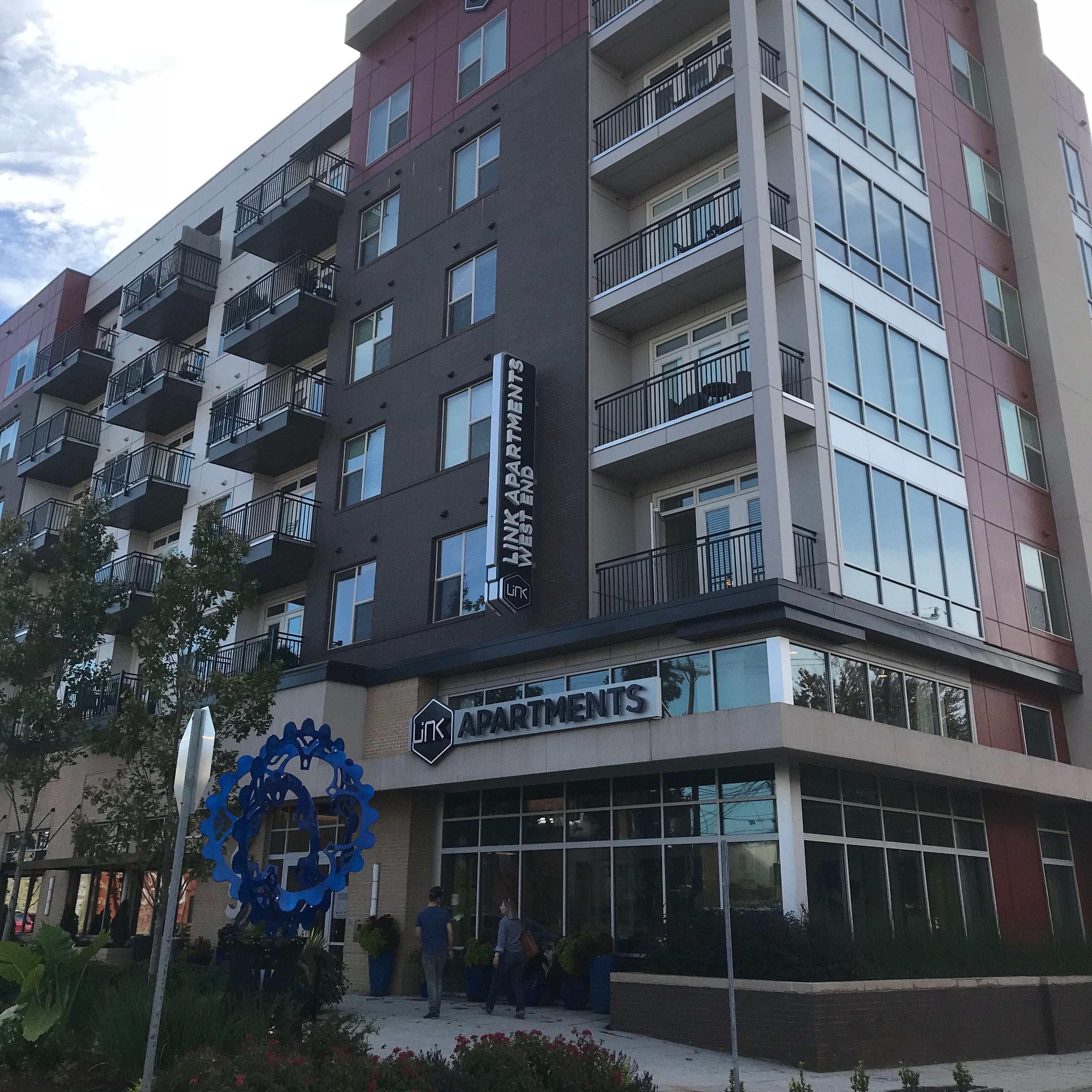 Downtown Greenville's wealth is in apartments, and there's room for even more