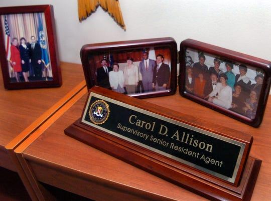 Carol Allison shares memories of her days with the FBI.GWINN DAVIS / STAFF  gdavis@greenvillenews.com  (864) 915-0411June 2, 2007