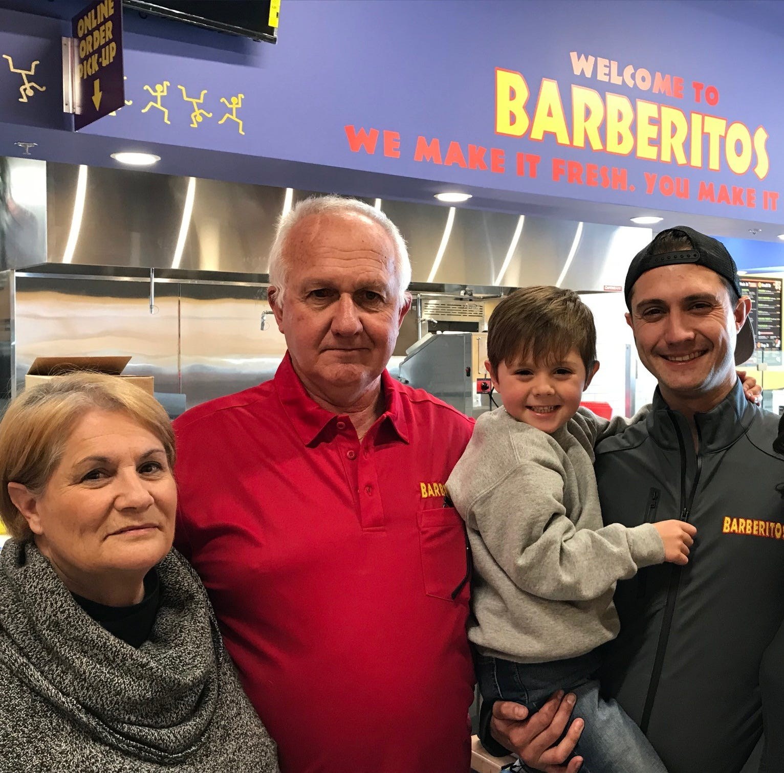 Retired scientist, family open Greenville's 1st Barberitos at Fresh Market shopping center