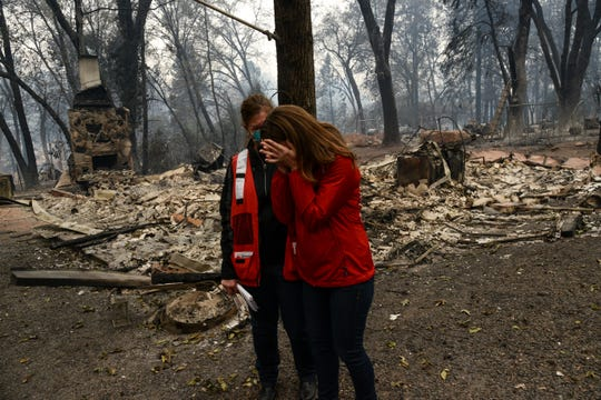 """These are my neighbors, my colleagues, friends, and friends of my family. Nothing, there is nothing left,"" said Amanda Ree, Executive Director of the Northeast California Red Cross, who is currently living and working in Chico, CA. Colleague Vicki Eichstaedt, a Red Cross volunteer, is there as Amanda grieves these unspeakable losses for her community."