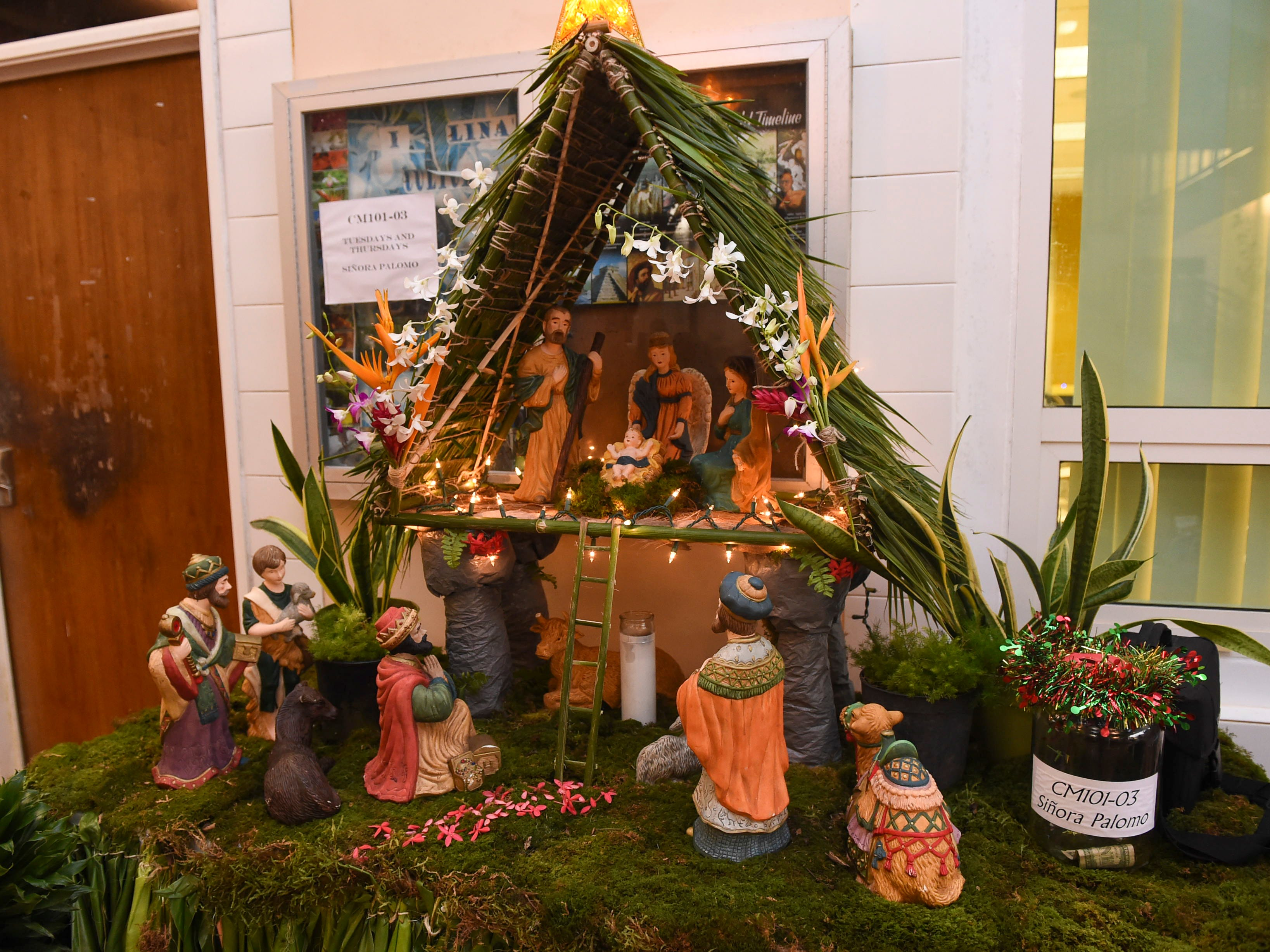 Bilens are displayed for competition the during University of Guam Chamorro Studies Program's 2018 Christmas Celebration, Puengen Minagof Noche Buena! at the UOG Humanities and Social Sciences Building on Nov. 30, 2018.