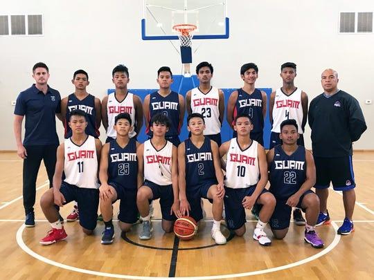 Guam's best U15 basketball players head to Papua New Guinea for the FIBA U15 Oceania Championships Dec. 4-6.