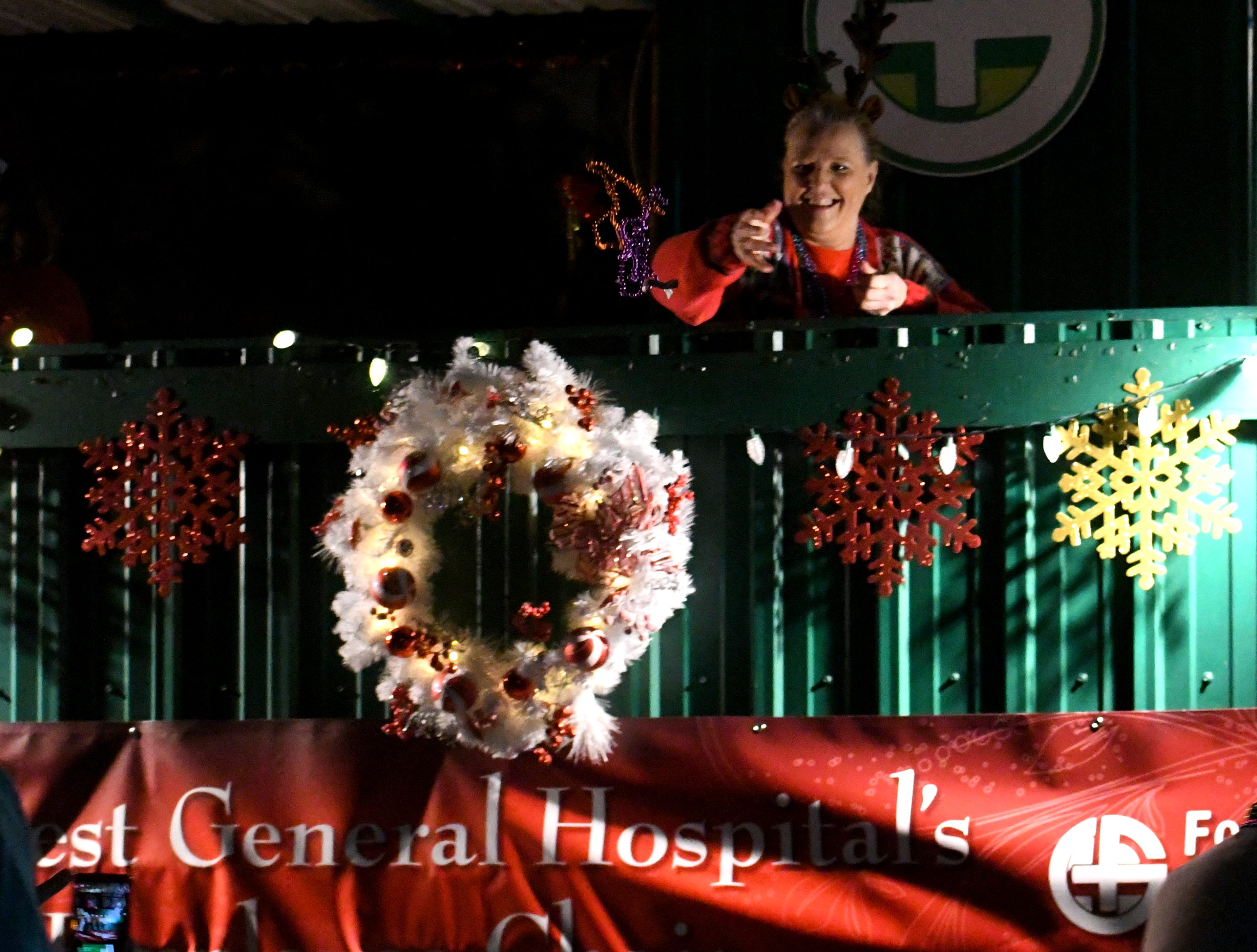 The 68th annual Christmas Parade rolls down Hardy Street for Pine Belt residents to kick off the holiday season on Thursday, November 29, 2018.