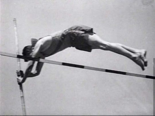 James Dean set the Grant County pole vault record at Fairmount High, which he held for several years.