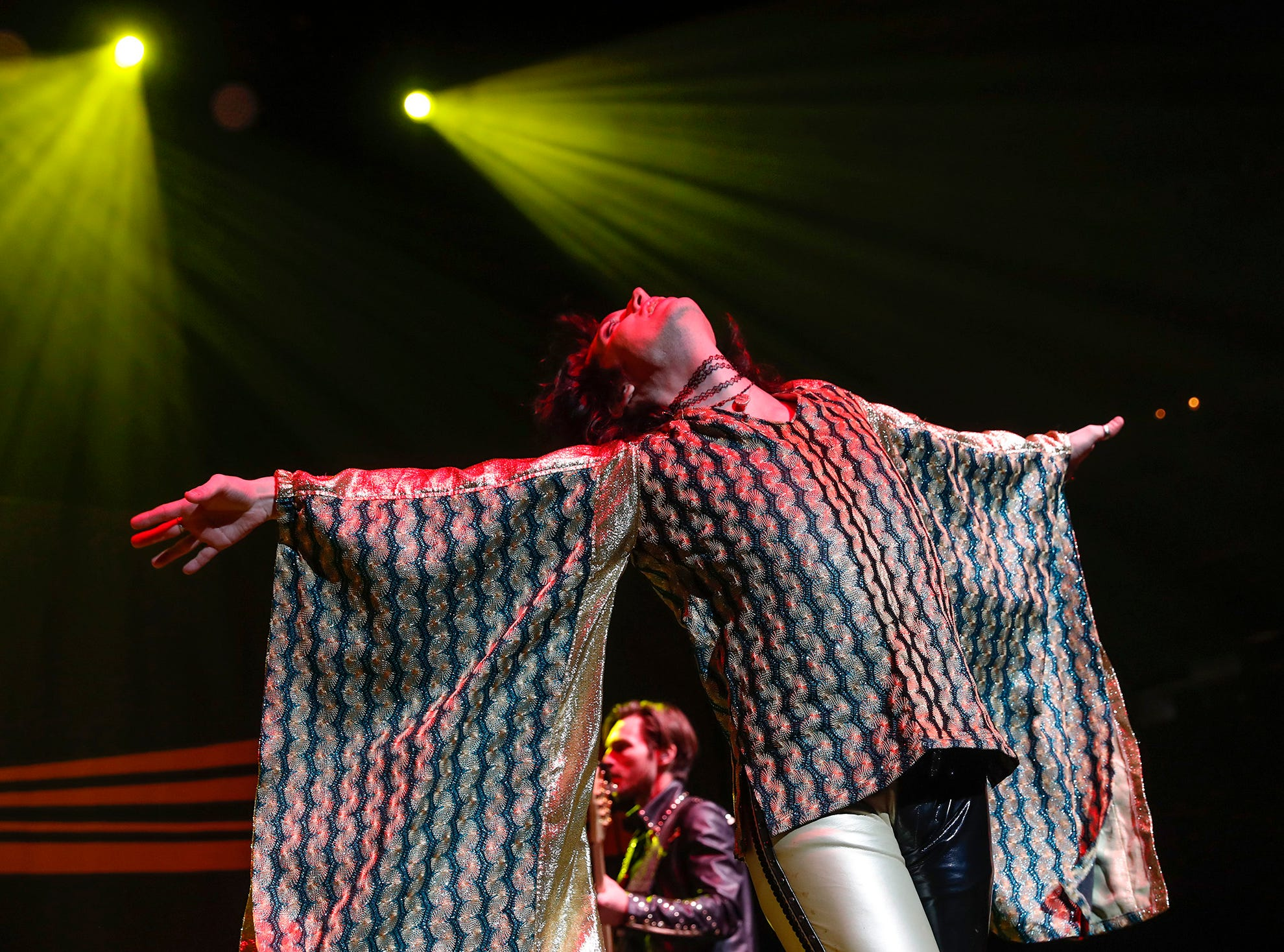 """The Struts perform during the """"The Night ALT 103-3 Stole Xmas"""" concert at Indiana Farmers Coliseum on Thursday, Nov. 29, 2018."""
