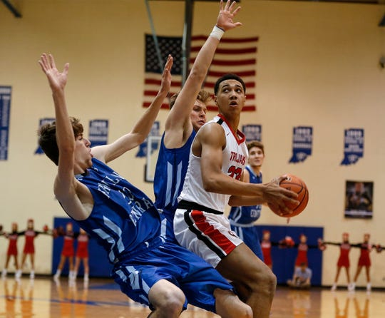 Center Grove's Trayce Jackson-Davis is the top-ranked player in his class in the state.