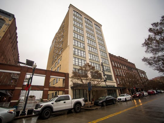 The Sterchi building was constructed in the 1920s and has undergone multiple renovations.