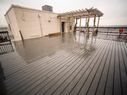 The rooftop deck will be renovated and reopened at Sterchi Lofts on Gay Street in downtown Knoxville.