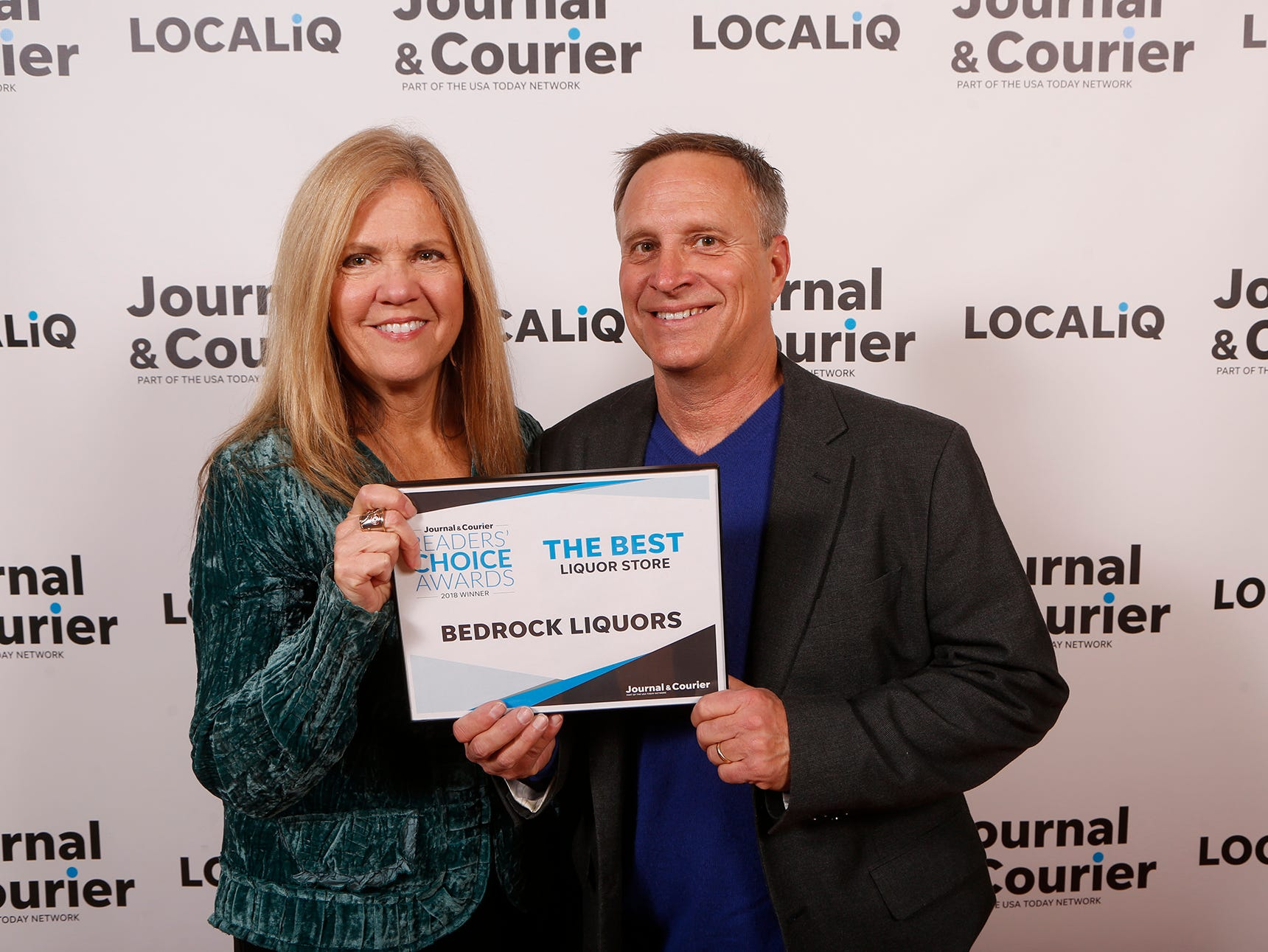 Bedrock Liquors, Journal & Courier Readers' Choice Awards winner for the best liquor store.