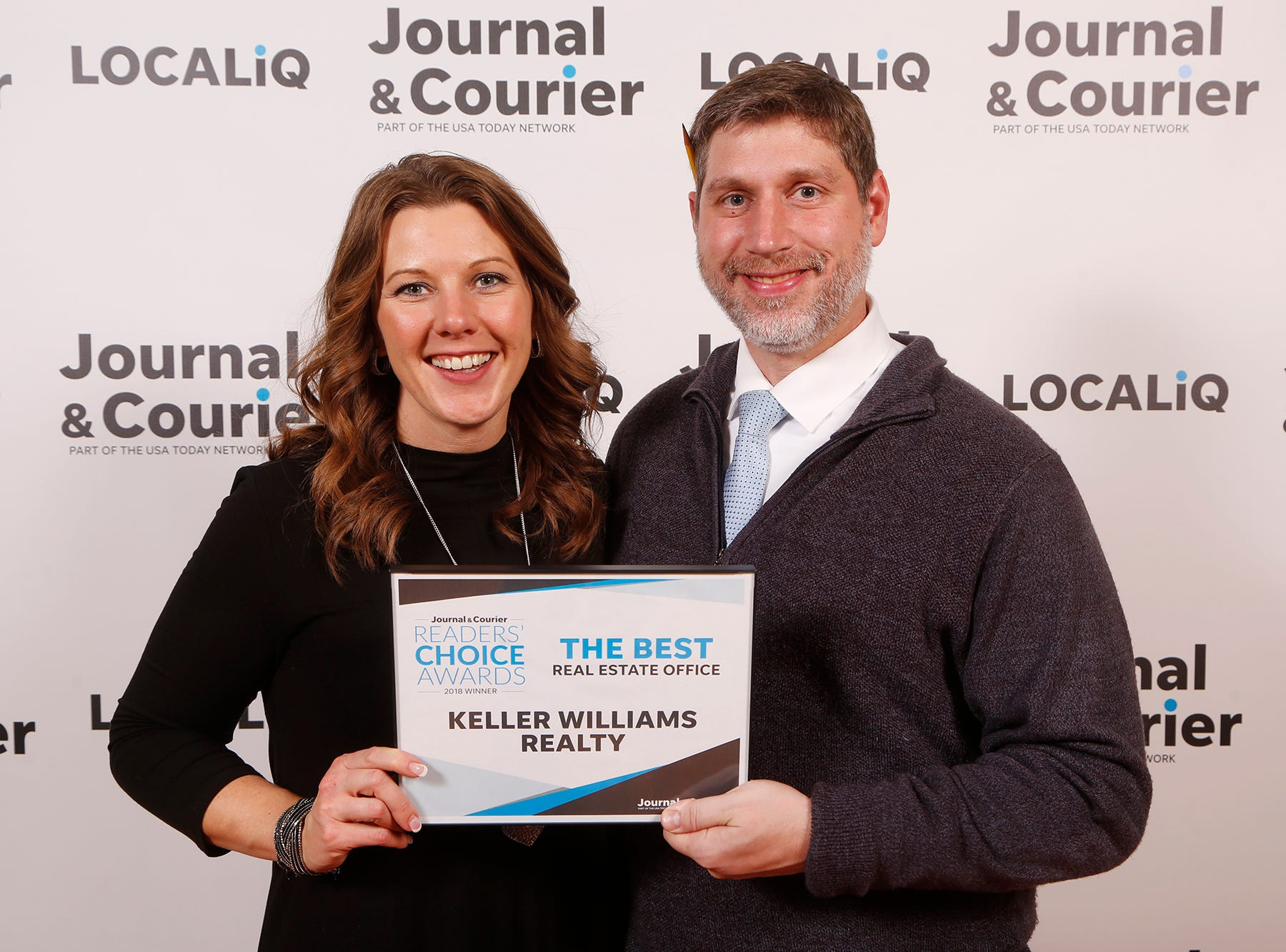 Keller Williams Realty, Journal & Courier Readers' Choice Awards winner for the best real estate office.