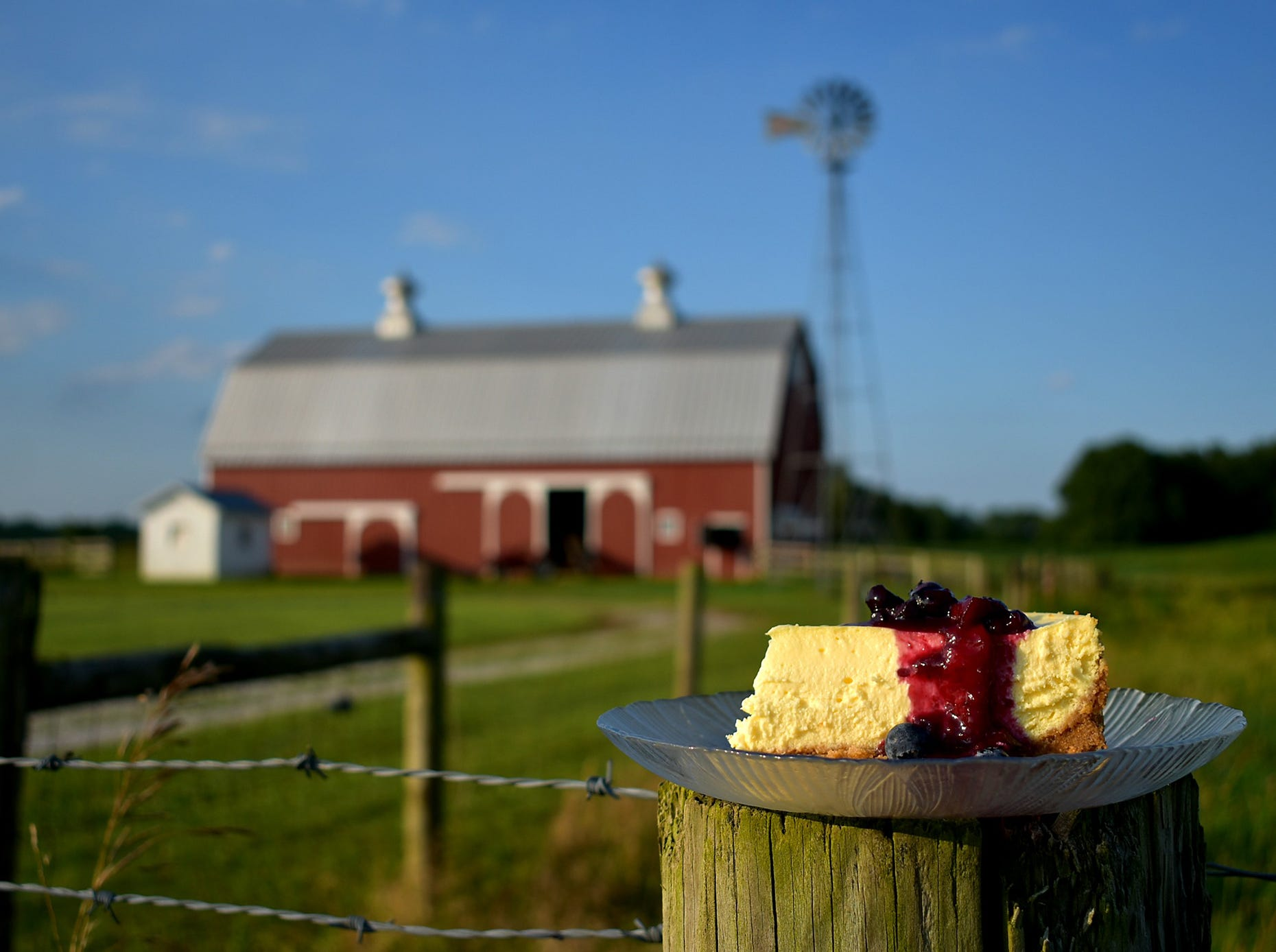 Much of the food comes directly from the farm or is locally sourced.