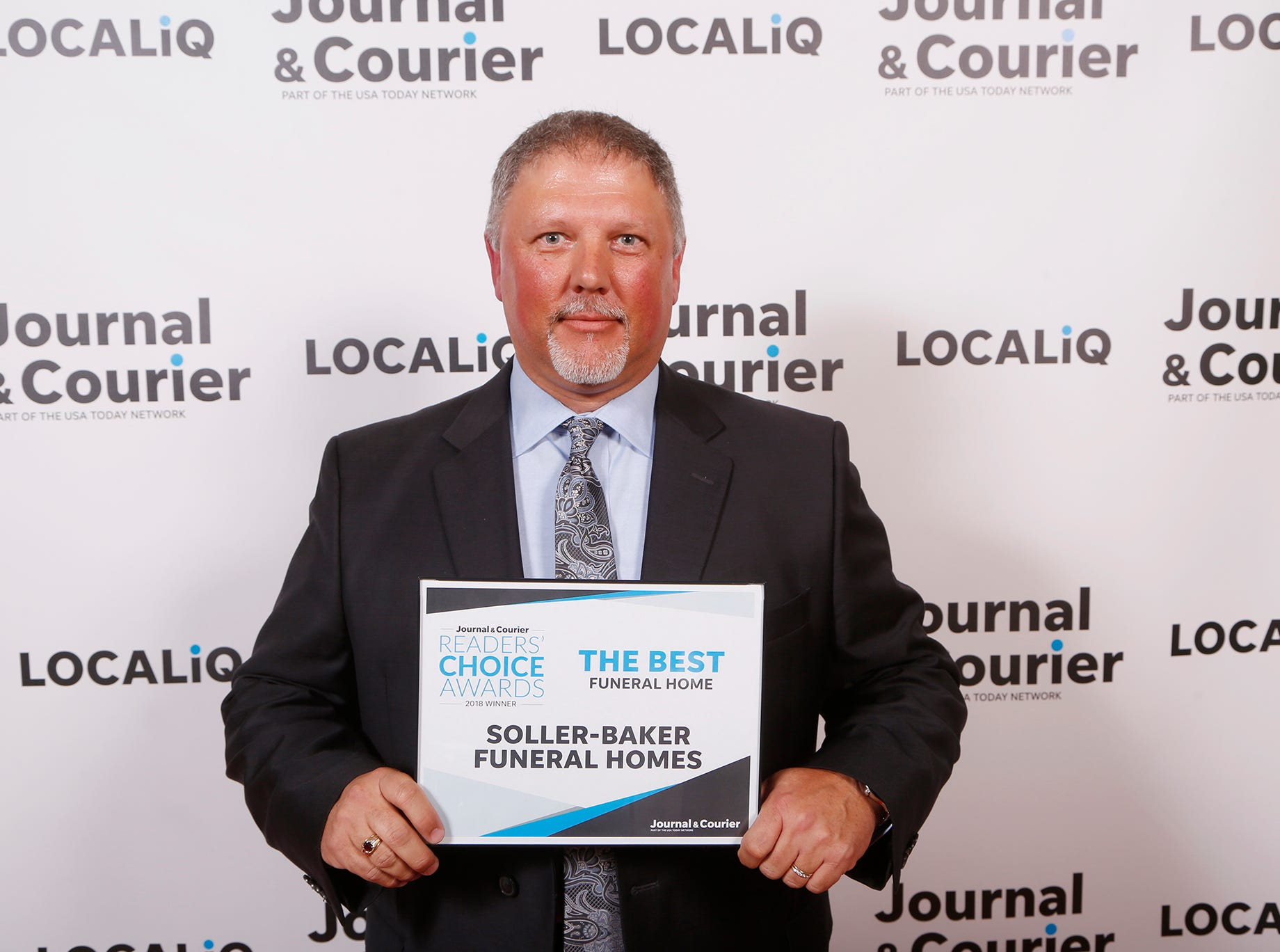 Soller-Baker Funeral Homes, Journal & Courier Readers' Choice Awards the best funeral home.