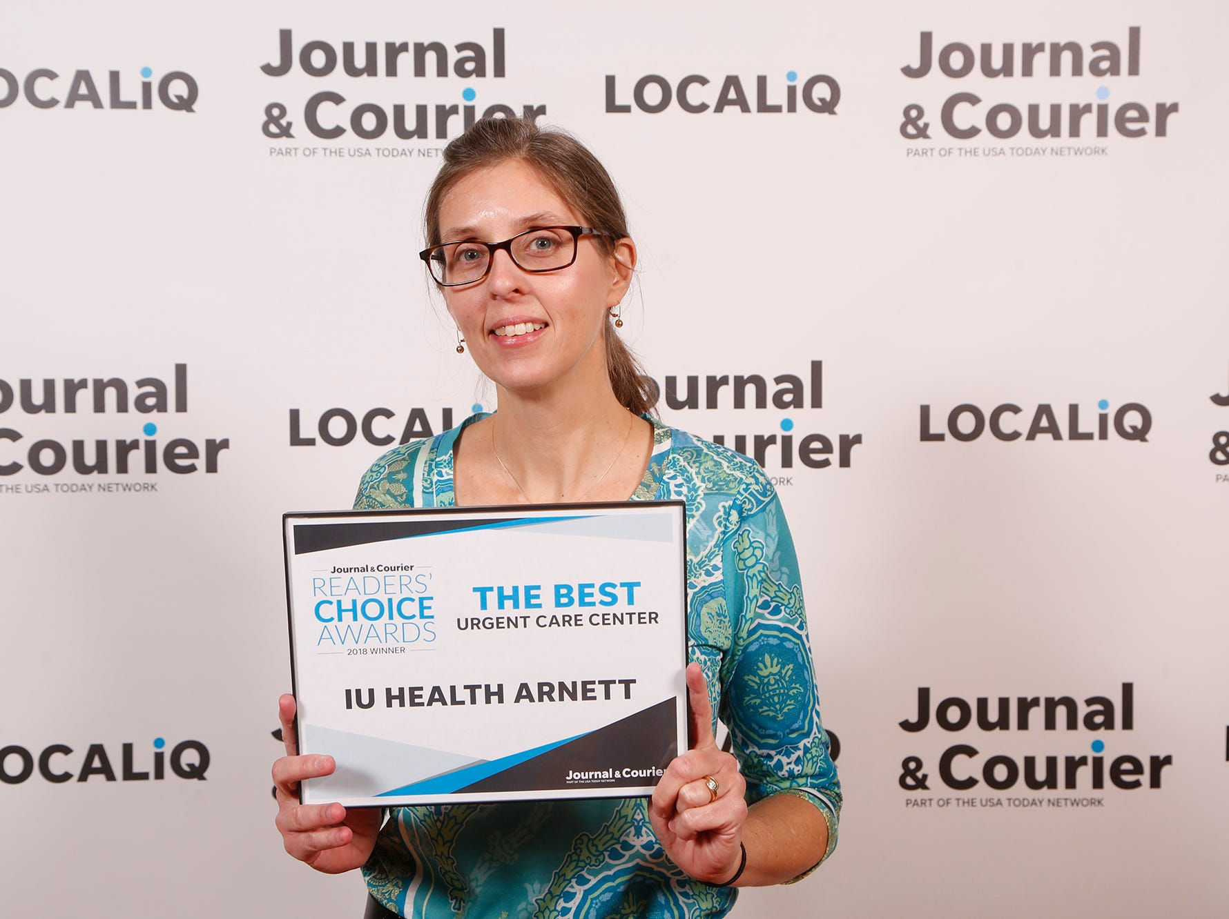 IU Health Arnett, Journal & Courier Readers' Choice Awards winner for the best urgent care center.