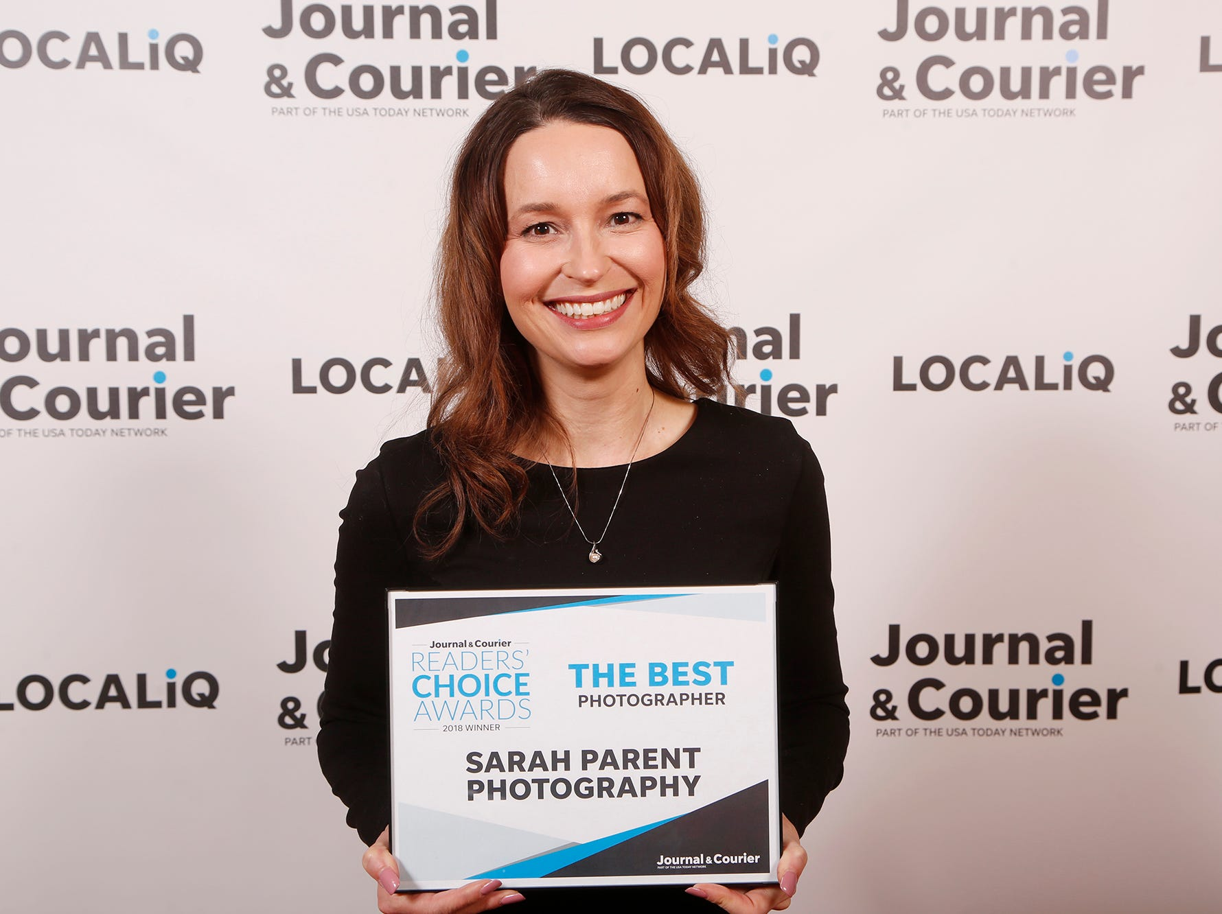 Sarah Parent Photography, Journal & Courier Readers' Choice Awards winner for the best photographer.