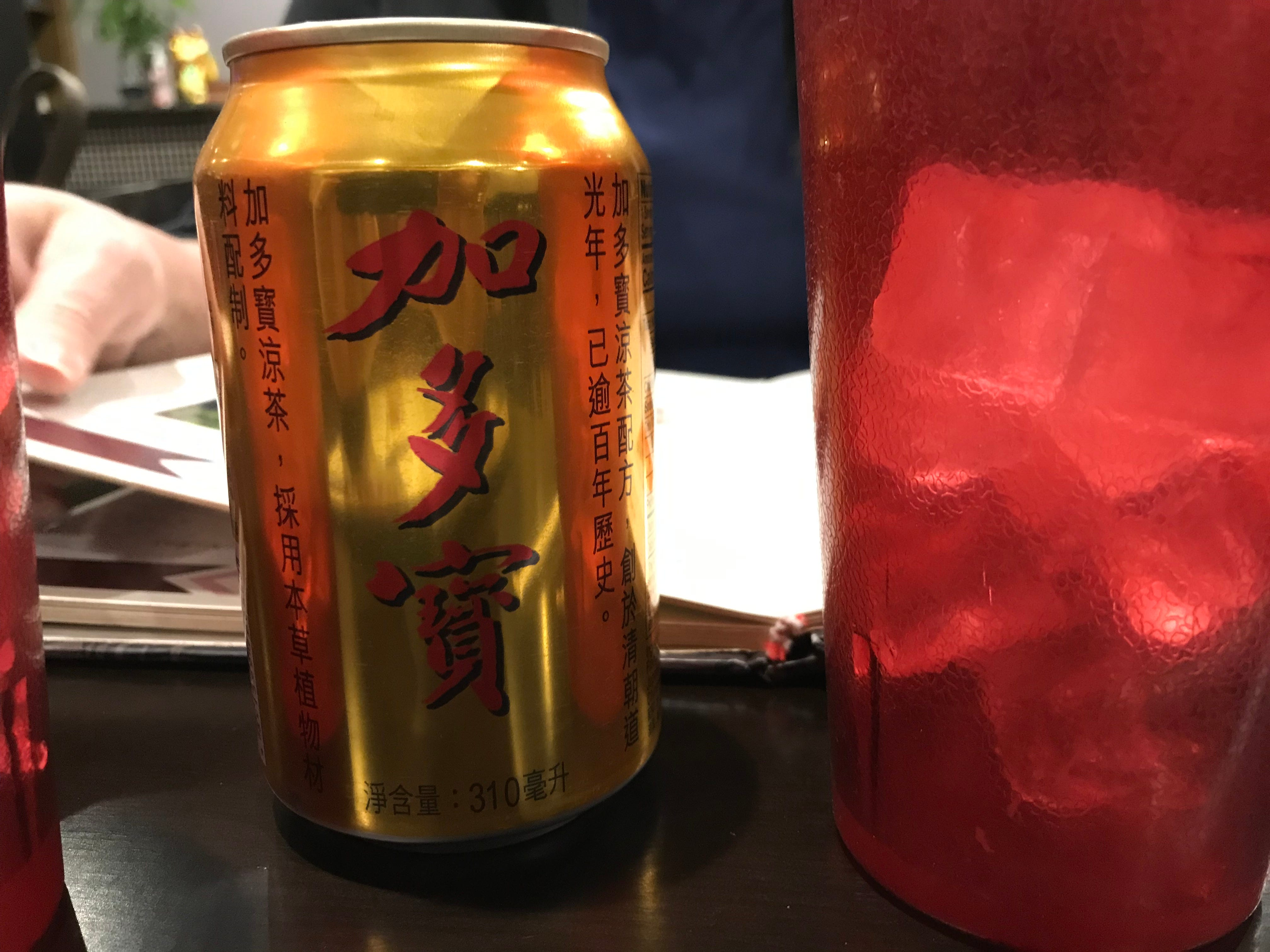 Shu Ge's Chinese tea in this 12-ounce can tasted like sweet tea with lemon.