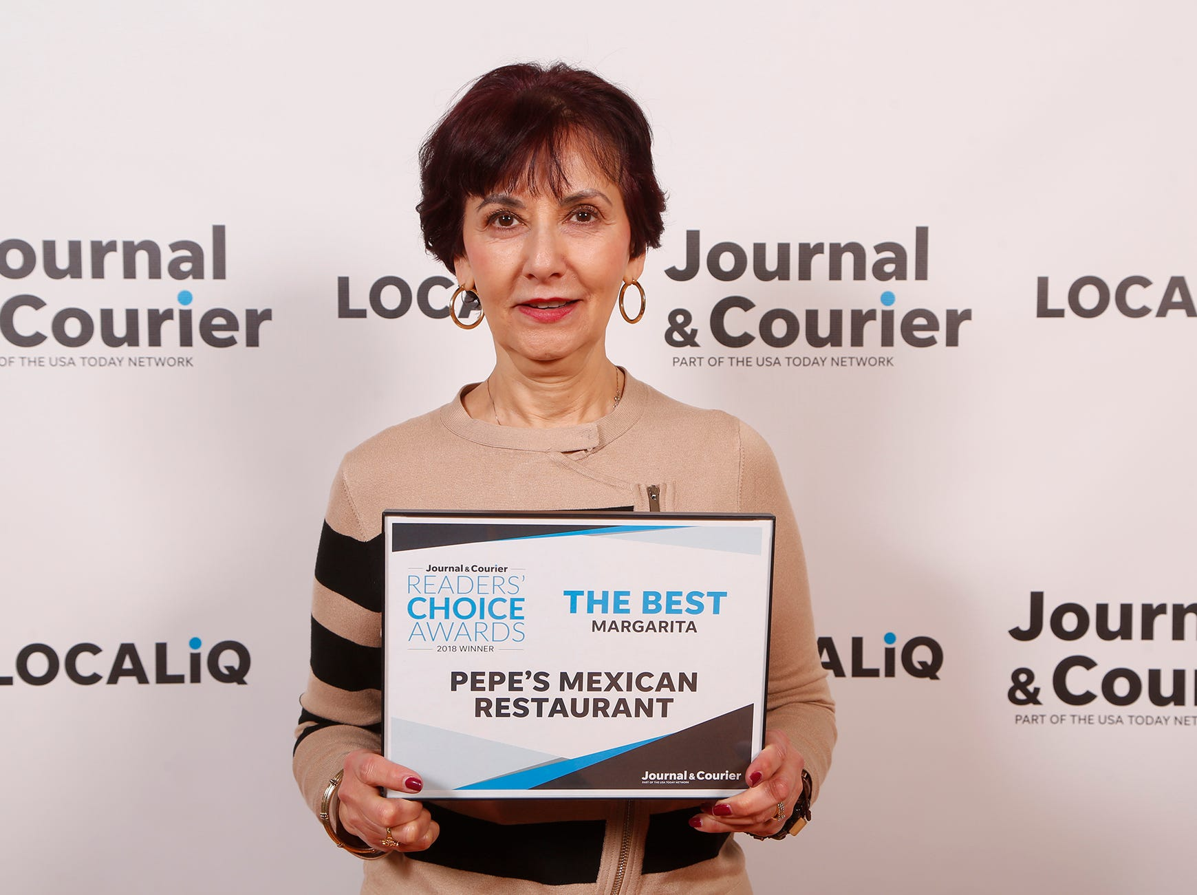 Pepe's Mexican Restaurant, Journal & Courier Readers' Choice Awards winner for the best margarita.