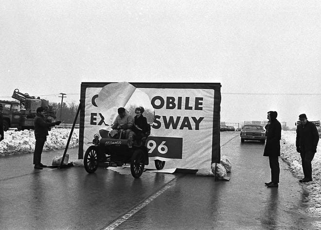 On Dec. 18, 1970, the new freeway, called the Oldsmobile Expressway, opened. It eased traffic flow in Lansing but cut through the heart of the city's largest black neighborhood, displacing many families.